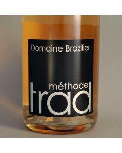 """NV Domaine Brazilier """"Méthode Trad"""" Brut Rosé"""