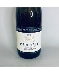 2016 Francois de Nicolay Mercurey 'Les Montelons' Blanc