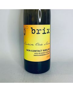 """2019 J. Brix """"Sunrise over Skin"""" Skin-Contact Riesling, Kick On Ranch"""
